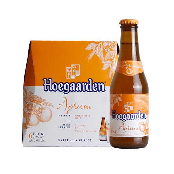甫佳白柑橘味啤酒250ml*24瓶