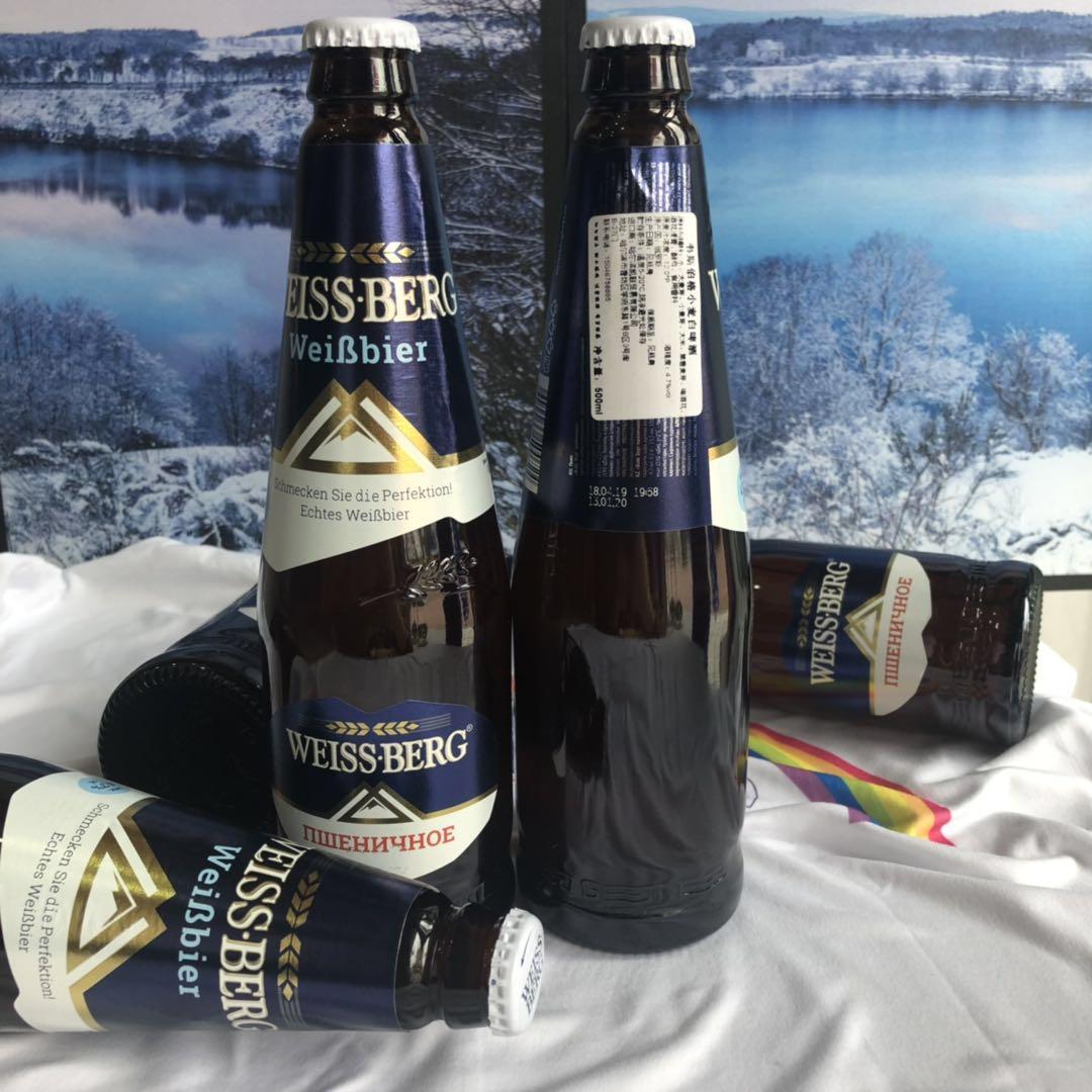 韦斯伯格小麦白啤酒500ml*12瓶