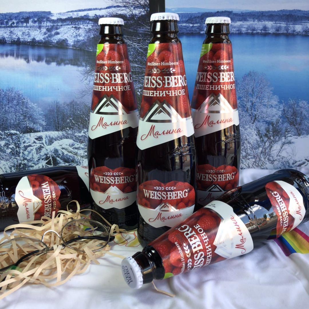 韦斯伯格马林果味小麦啤酒500ml*12瓶