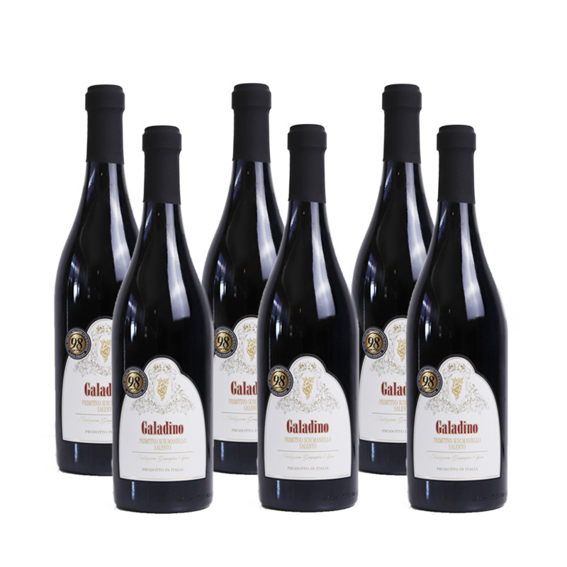 格兰蒂诺14.5度干红葡萄酒750ml*6瓶