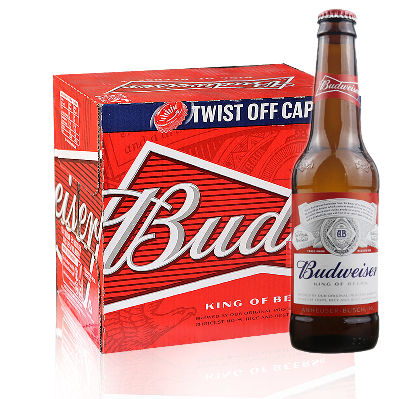 比德威瑟(旋盖)啤酒300ml*15瓶