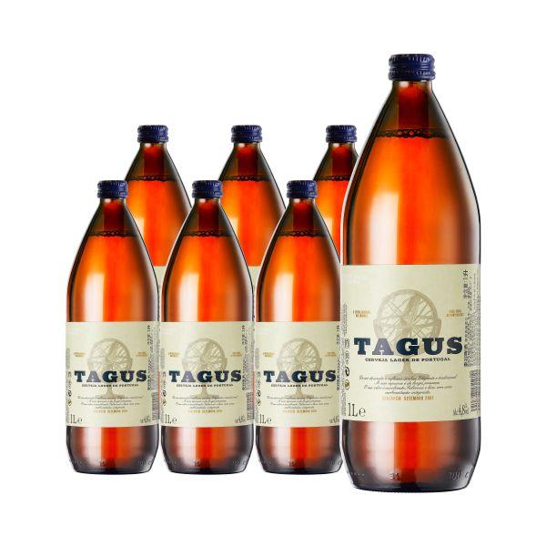 泰谷(TAGUS)啤酒 1L*6瓶