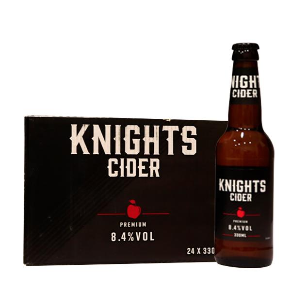 骑士西打酒330ml*24瓶