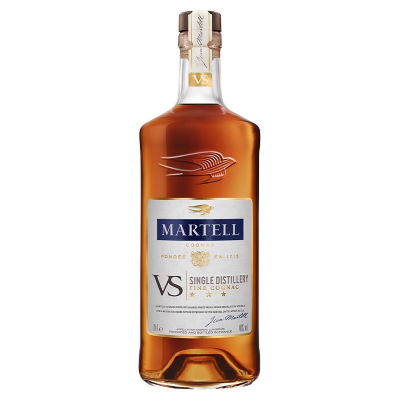 MARTELL/马爹利波本蓝带VS干邑白兰地700ml*6瓶