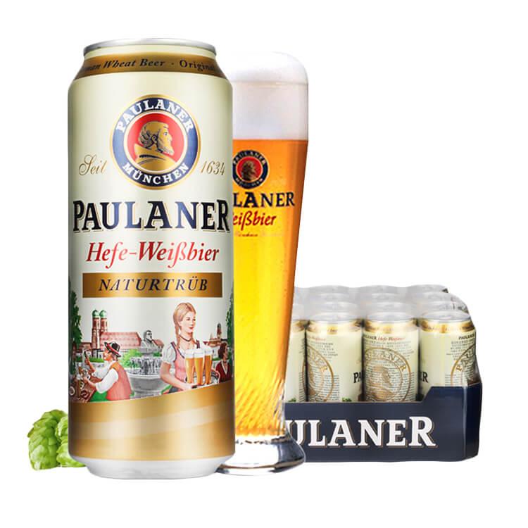 保拉納/柏龍酵母型小麥白啤酒500ml*24聽