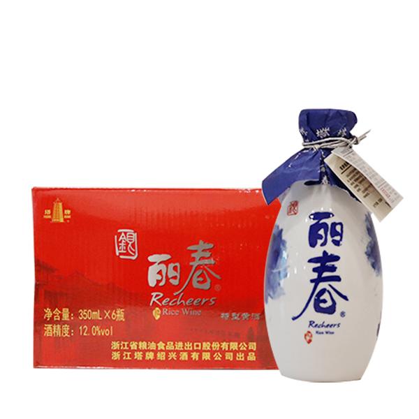 塔牌绍兴黄酒银丽春350ml*6瓶