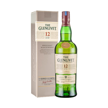 格兰威特单一麦芽苏格拉威士忌12年陈酿700ML*12瓶