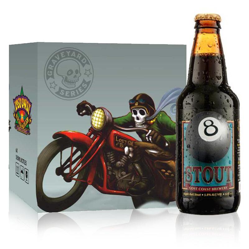 迷失海岸(黑八世涛)啤酒355ml*24瓶