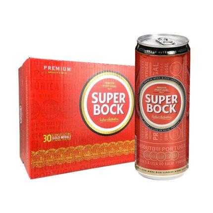 波克SuperBock啤酒 330ml*24听
