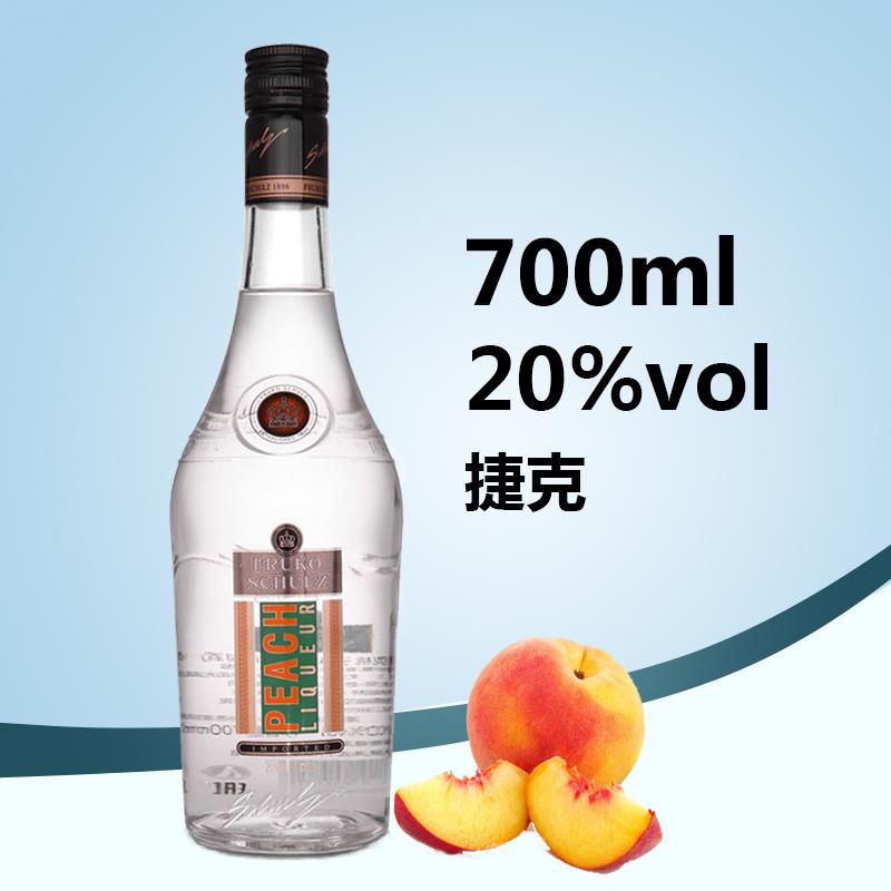 孚卢克(桃子味)利口酒配制酒700ml*6瓶
