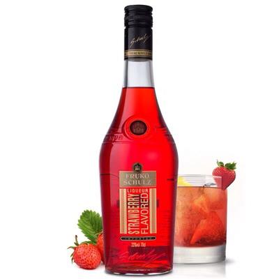 孚卢克(草莓味)利口酒配制酒700ml*6瓶