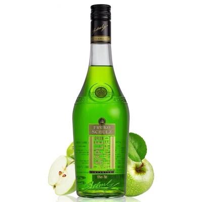 孚卢克(绿苹果味)利口酒配制酒700ml*6瓶