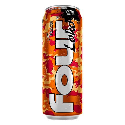 FOUR LOKO/肆洛克(水蜜桃味)鸡尾酒配制酒695ml