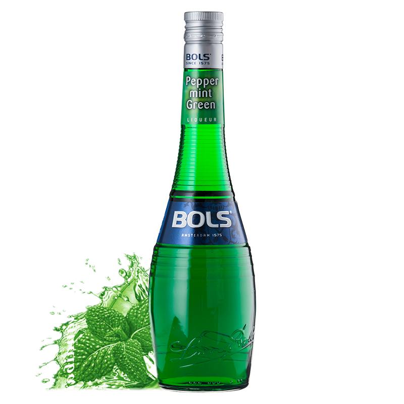 BOLS/波士(绿薄荷味)力娇酒利口酒700ml*6瓶