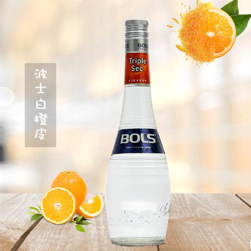 BOLS/波士(白橙皮味)力娇酒利口酒700ml*6瓶